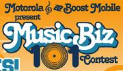 Music Biz 101 Contest
